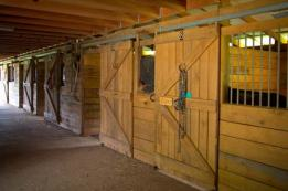 Individual Tack Rooms for each boarder!